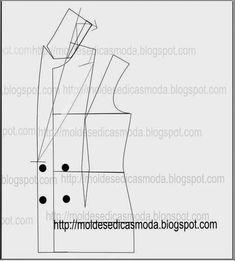 PASSO A PASSO MODELAÇÃO PÉ DE GOLA E GOLA (acertos) Estes acertos na gola e pé de gola, começaram por ser feitos na confecção de casacos de homem. Actualme