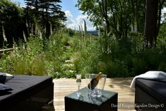 From one of my garden design projects in Cheshire in North wets UK. Planting schemes perennial meadow swipe for before picture. Landscape Design, Garden Design, Outdoor Furniture Sets, Outdoor Decor, Design Projects, Perennials, Wild Flowers, Patio, Grandparent