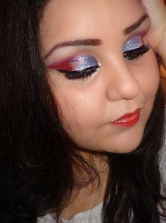 rocker make-up | Questo trucco è ispirato alla francia.