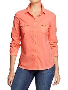 Old Navy - Womens Classic Shirts