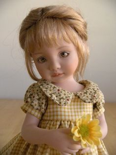 """""""Anna""""  made by Tamara Howell from Dianna Effner mold"""