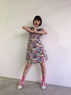 森川葵のファッション通信(2) レトロワンピをキュートに着こなす
