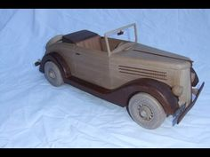 Wooden 1936 Ford