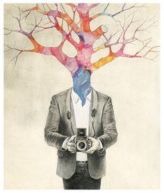 Tree Head Sketch