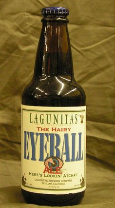Eyeball Beer...hmmm wonder what the ingredients are? humour?