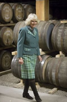 The Duke and Duchess of Rothesay visit Ballindalloch Distillery, 16.04.2015