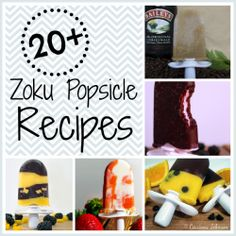 24 Homemade Zoku Popsicle Recipes For You To Snack On This Summer