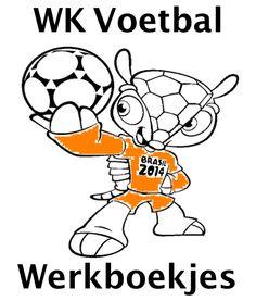 WK Voetbal Werkboekjes