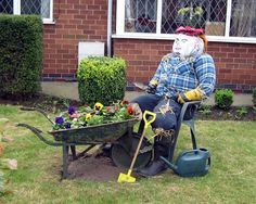 Image result for scarecrows contest