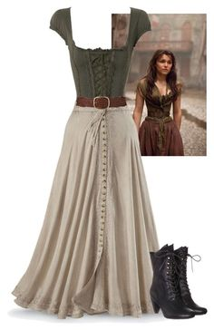 Pretty Outfits, Pretty Dresses, Beautiful Dresses, Old Fashion Dresses, Fashion Outfits, Moda Medieval, Vintage Dresses, Vintage Outfits, Kleidung Design