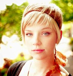 For Zoe Short blonde hairstyles for thin hair
