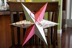 Paper 3D Star Tutorial