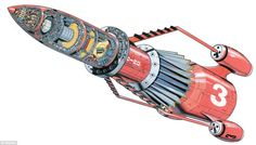 Thunderbird 3 | Thunderbirds | Gerry Anderson