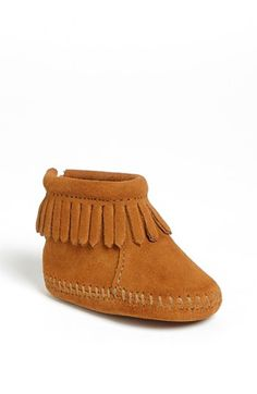 Minnetonka Bootie (Baby & Walker) available at Nordstrom...Madison need's these immediatly