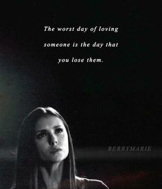 Nina dobrev as elena gilbert. just finished the episode of vampire diaries were elena gets into a car wreck with matt of the bridge balling my eye's out! Vampire Diaries Stefan, Serie The Vampire Diaries, Vampire Diaries Wallpaper, Vampire Diaries Quotes, Vampire Diaries The Originals, Vampire Quotes, Tvd Quotes, Loss Quotes, Movie Quotes