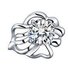 002c19ab5 Earrings 50647: Kiera Couture Sterling Silver Swarovski Zirconia ...