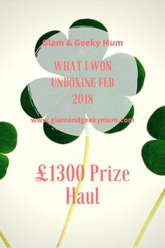 Find out how I won £1300 worth of prizes this month! Feb 2018