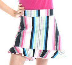 Golftini Girl Money Maker Ruffle Golf Skort (junior golf apparel) #golf4her #spring #newarrival
