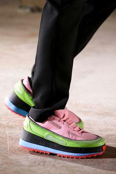 spaced geek, maybe costume - Raf Simons x Adidas Spring/Summer 2015.