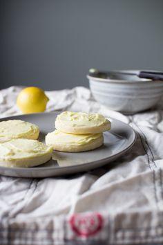 Sweet Lemon Sugar Cookies with a Creamy Lemon Buttercream Frosting...