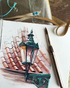 ARTIST&travellerNow in MoscowCANSON ambassador  ⚓️ IMPRESSIONS, INSPIRATION, AQUARELLE ⚓️ Watercolor@juliabarminova.com