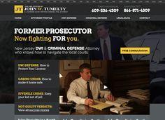 Buyer personas, customer development, and website redesign. Criminal Defense, Persona, Website