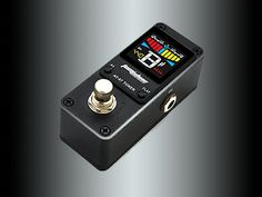 The Tom'sline Engineering Chromatic Pedal Tuner has a High definition 4 color screen and comes with a smart chip inside to ensure accurate & fast tuning. 12 String Guitar, Option B, Guitar Tuners, Pedalboard, Guitar Pedals, Aluminium Alloy, Toms, Engineering, Mechanical Engineering