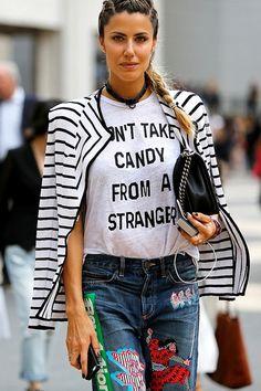 Slogan Tees! 潮流趨勢:休閒標語 Tee 為你穿搭加入玩味 | Popbee - 線上時尚生活雜誌
