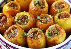Картофель, фаршированный мясом. Вкус, который не забудешь!