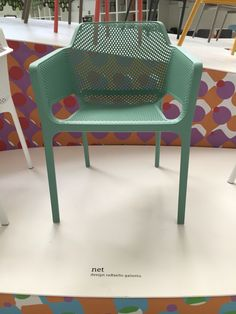 New Nardi net chair in Salice green