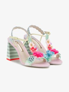 Floral-Embellished Lilico Sandals