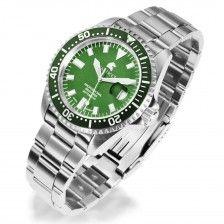 """Herrenuhr Carucci """"Diver"""", grün"""