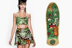 Picture of Is Jeremy Scott Using Graphics from Jim Phillips?