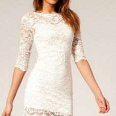 Photopoll: Lace dresses