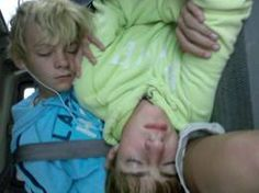 Look at young Rocky and young Ross sleeping. So cute!!!!! The picture is sideways but who cares!