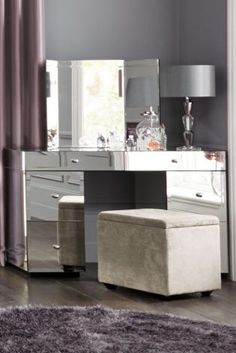 Buy Deco Trifold Mirror from the Next UK online shop