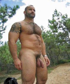 Nude bear men