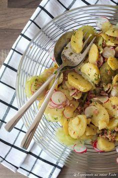 Kartoffelsalat mit Radieschen und Speck #grillen