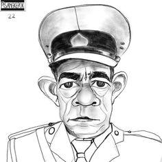 Sgt. de Bruin  #profile #the100face #the100dayproject #digitalart #sketchaday #nggambarsik