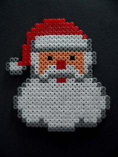 Etsy - Shop for handmade, vintage, custom, and unique gifts for everyone Hama Beads Design, Hama Beads Patterns, Beading Patterns, Summer Crafts, Diy Crafts For Kids, September Kids Crafts, Christmas Perler Beads, Melting Beads, Santa And Reindeer