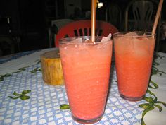 Chicha - this is the Nicaraguan version of chicha (corn beverage). Not going to lie...it looked like Pepto Bismol and tasted awful. Give me the Peruvian chicha any day!  www.finisterra.ca