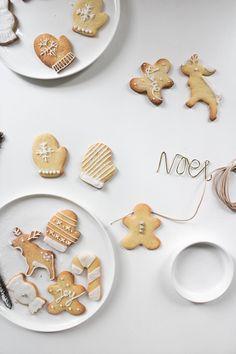 Christmas sugar cookies - Noel