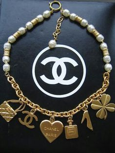 Coco Chanel Charm bracelet in gold