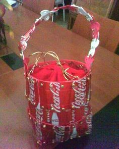 Coca Cola recycled bag