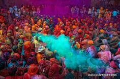 Id love to be a part of Holi!!