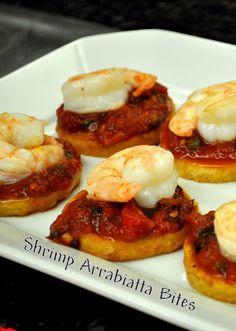 Bertolli Cooking Session (Recipe: Shrimp Arrabiatta Bites) | www.famfriendsfood.com