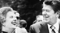 Margaret Thatcher and Ronald Reagan - two greats.