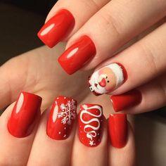 Новогодний красный