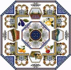 European Cross Stitch - Passione Ricamo -- I love the colors.   This site has such beautifully rich designs.