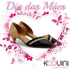 Você sente que é diferente #DiaDasMaes #koquini #sapatilhas #euquero #scarpin Compre Online: http://koqu.in/1VJv7Pl